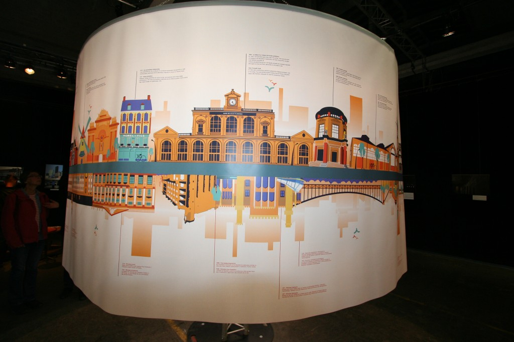 Exposition « Lille-Wroclaw : une aventure européenne » (photo : Michel Leclerc pour l'APGEF)