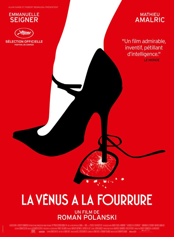 La Vénus à la fourrure- nouveau film de Roman Polanski aujourd'hui au cinéma!