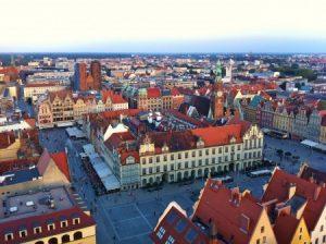 wroclaw-old-town (Wroclaw nommée Capitale Mondiale du Livre 2016 par l'UNESCO)