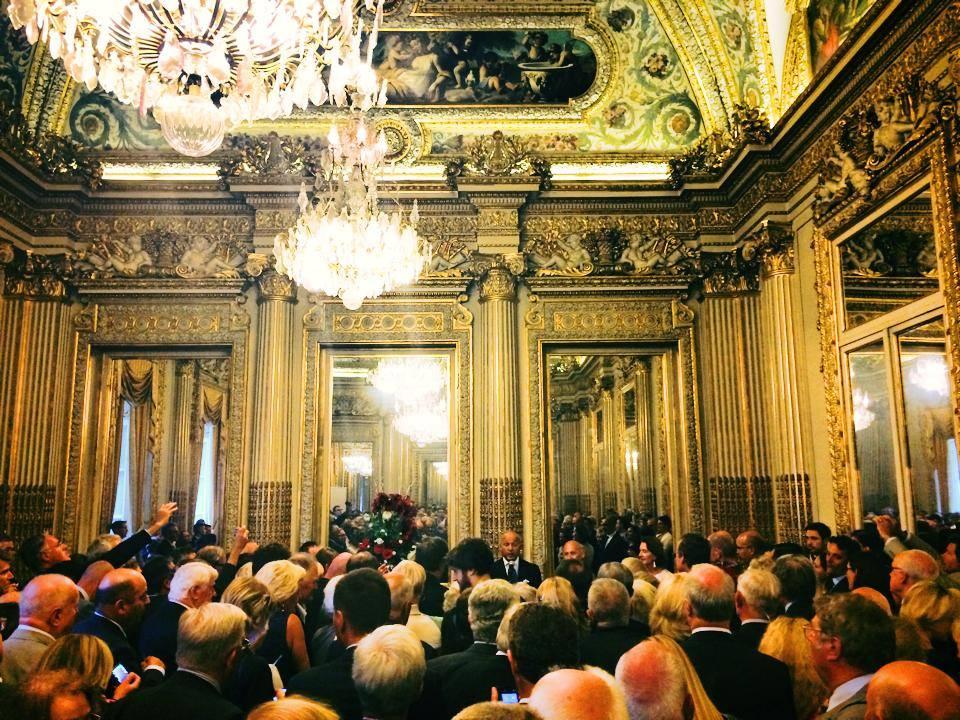 Discours de Laurent Fabius à l'occasion du départ de SE Monsieur l'Ambassadeur Tomasz Orłowski et Madame Aleksandra Orłowska.