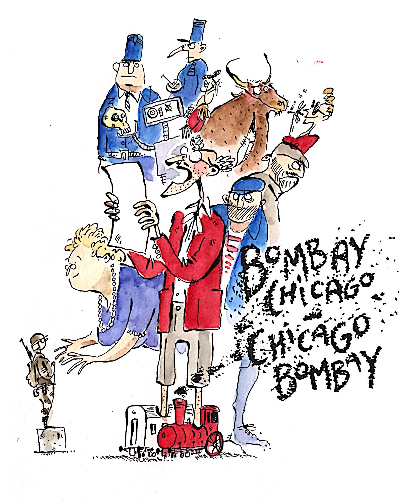 """10 juin au Théâtre Passage vers les Étoiles – représentation unique de """"Bombay – Chicago, Chicago – Bombay"""""""