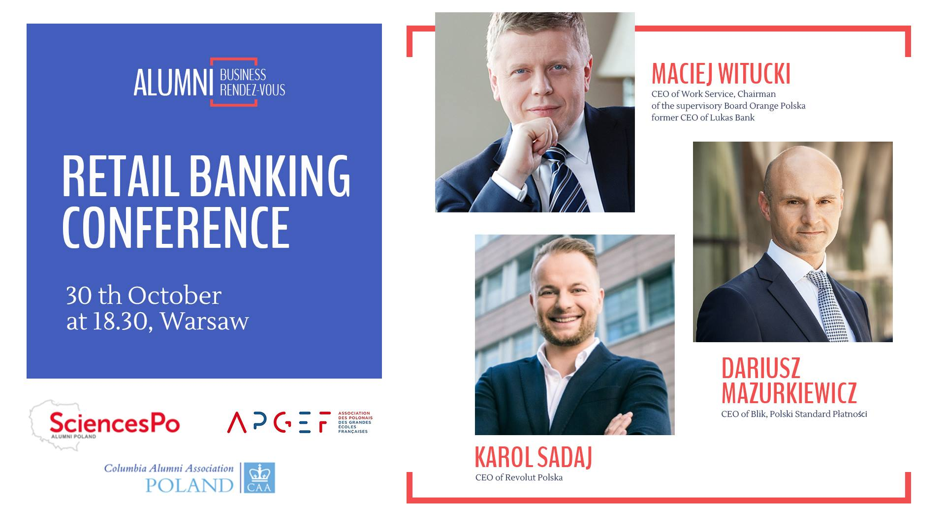 Conference on the retail banking challenges with M…