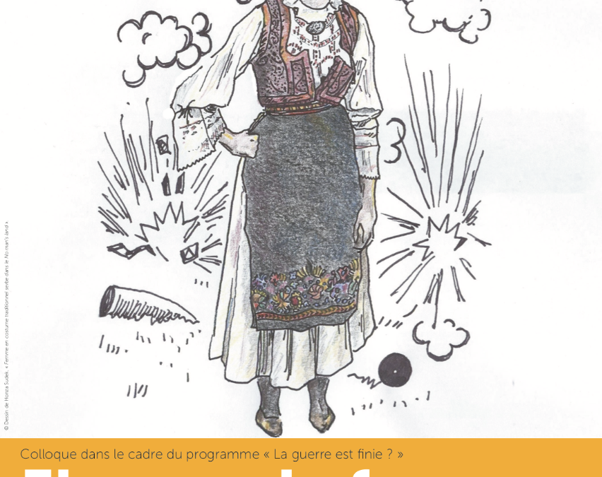 """Colloque """"Figures de femmes aux confins de l'Europe en guerre"""" – les 11 et 12 octobre à Paris"""