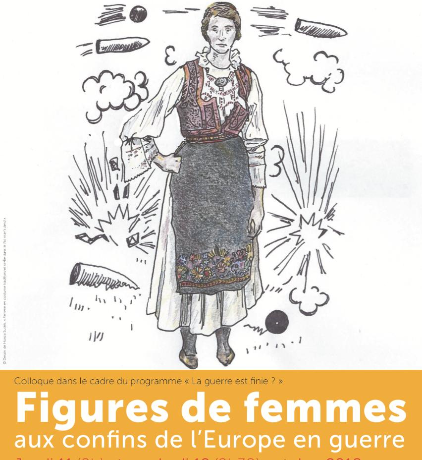 """Colloque """"Figures de femmes aux confins de l'Europ…"""