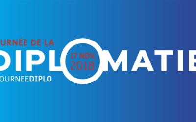17 nov –  Journée de la diplomatie 2018 par Ministère de l'Europe et des Affaires étrangères