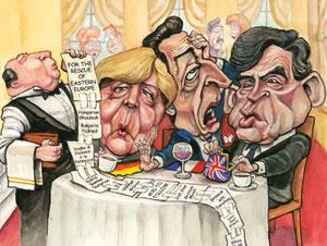 """""""The bill that could break up Europe"""", The Economist, 2009 - Cliquez sur l'image pour accéder à l'article."""