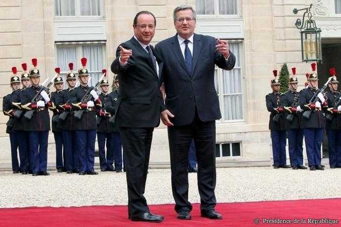 Hollande Komorowski