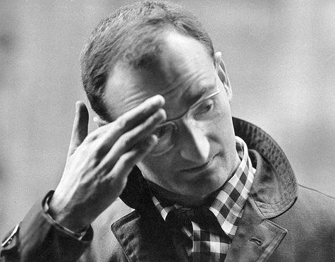 Slawomir Mrozek, en 1960. Photographie: Wojciech Plewinski