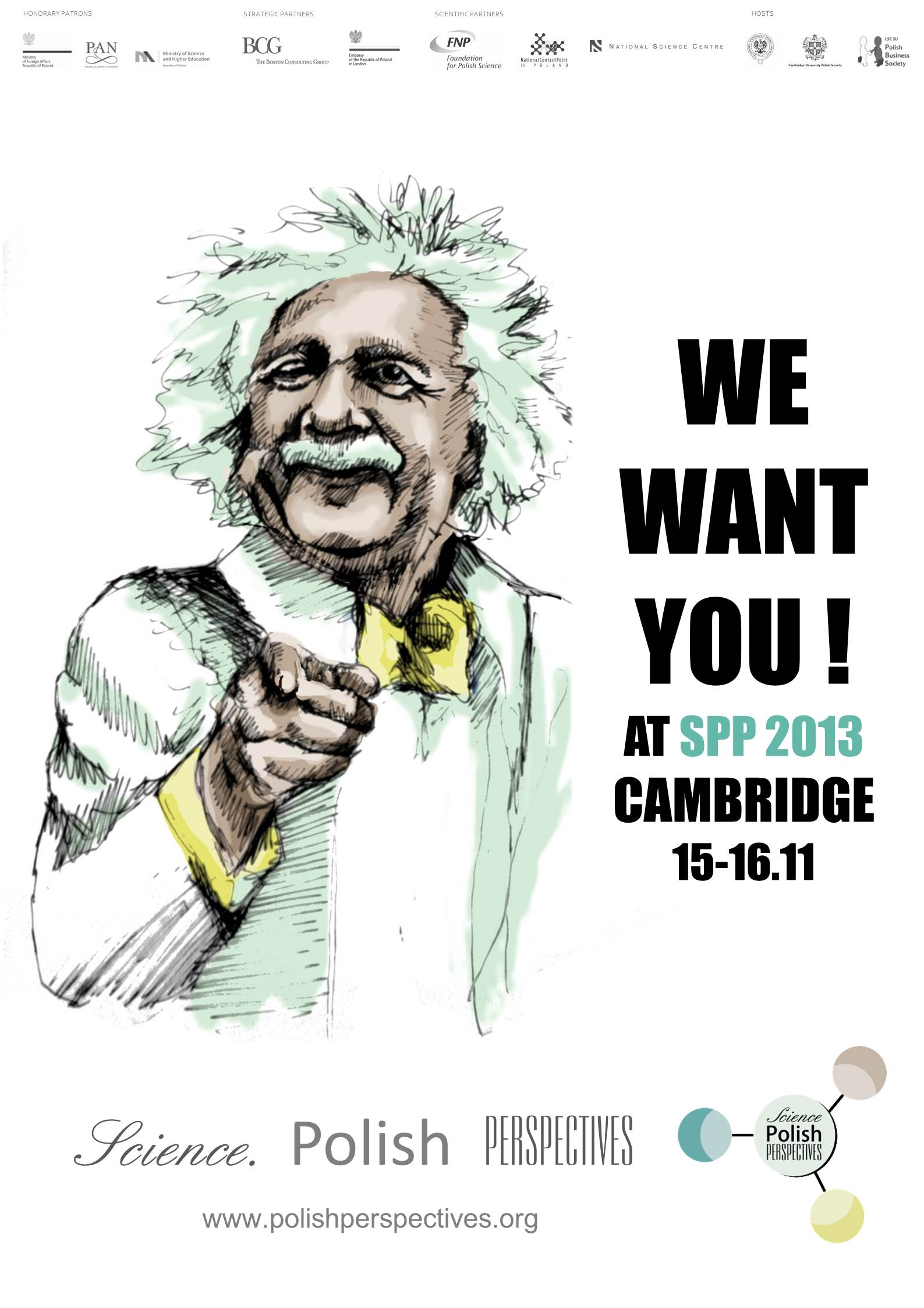 """15-16.11.13 – """"Polish Perspectives"""" science conference in Cambridge"""
