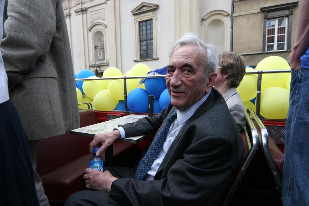 Tadeusz Mazowiecki (photo: Polska Fundacja im. Roberta Schumana)