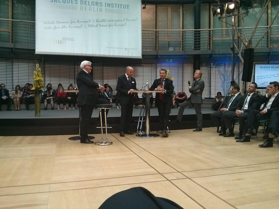 31.03.14 – Institut Jacques Delors à Berlin – Le retour du Triangle de Weimar