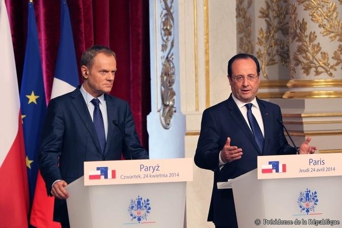 """Vers une Union Energétique européenne: """"une proposition polonaise et je considère qu'aujourd'hui c'est une proposition franco-polonaise"""" F. Hollande"""