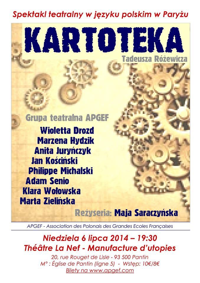 140706 - Kartoteka - APGEF - Plakat