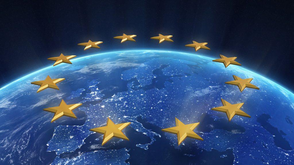Night view of Europe