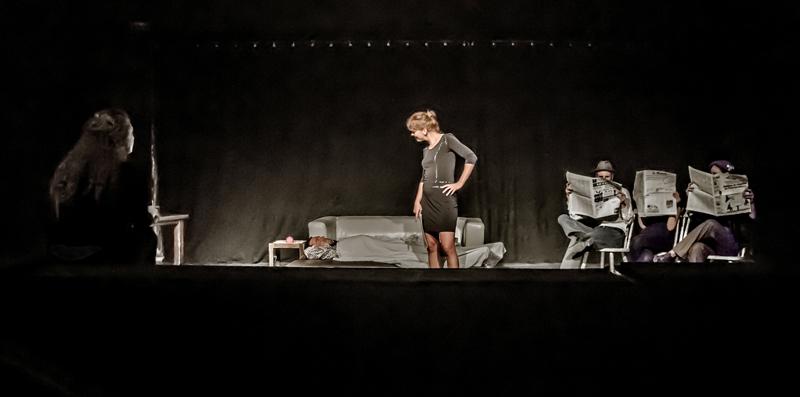 Répétition générale au théâtre La Nef-Manufacture d'utopies – 6 juillet 2014