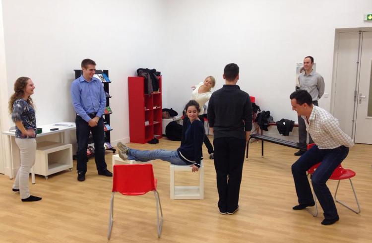 Atelier de théâtre APGEF – novembre 2013 – La MIE Bastille