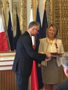 Photo de la céremonie du 18 Mars 2015 à l'Ambassade de Pologne
