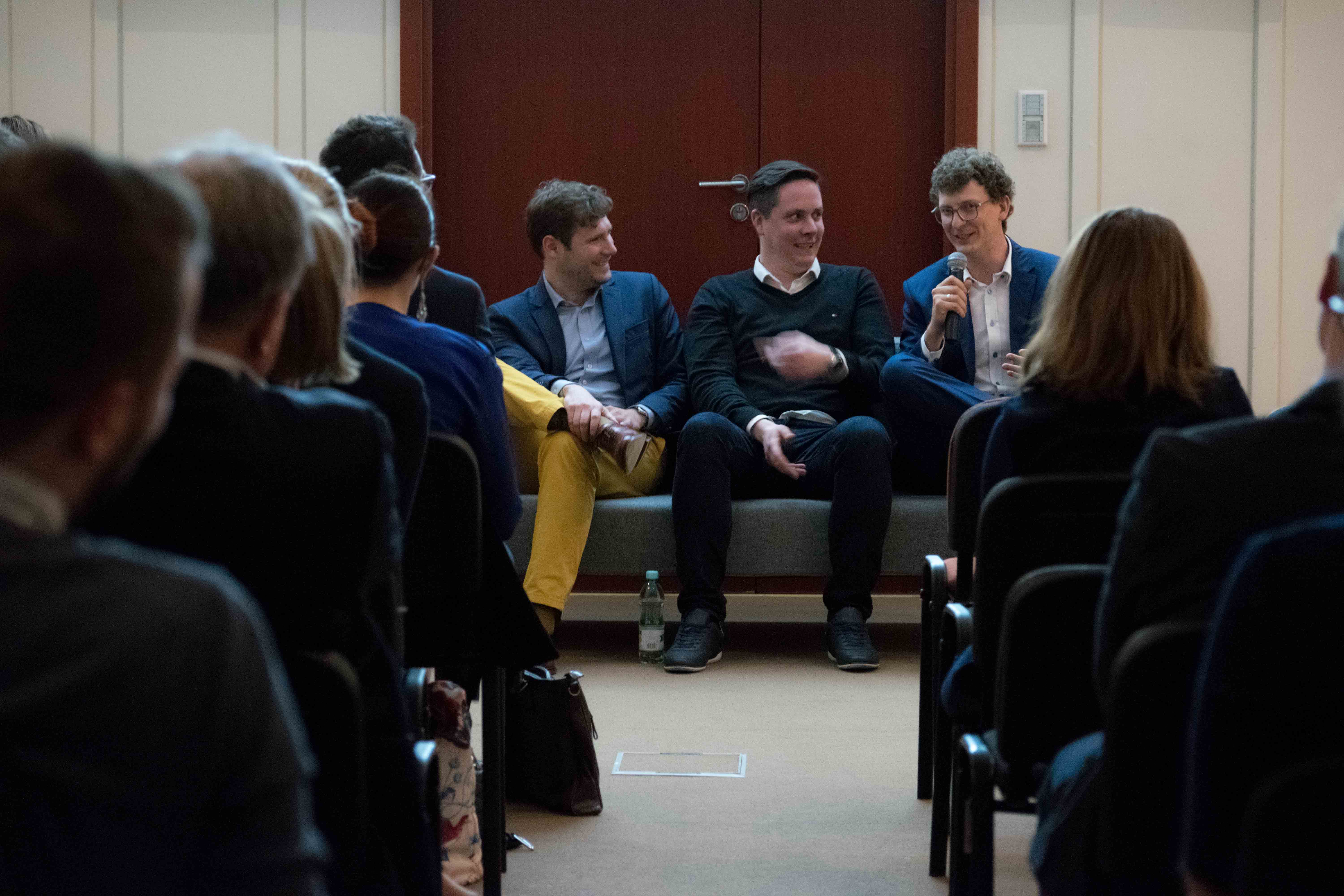 Photos of our conference held on the Sharing Economy on the19th of April in Warsaw