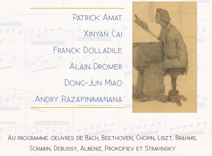 Concert-Rencontre entre pianistes amateurs et professionnels – le 13 juin 19h30 – SHLP/BPP