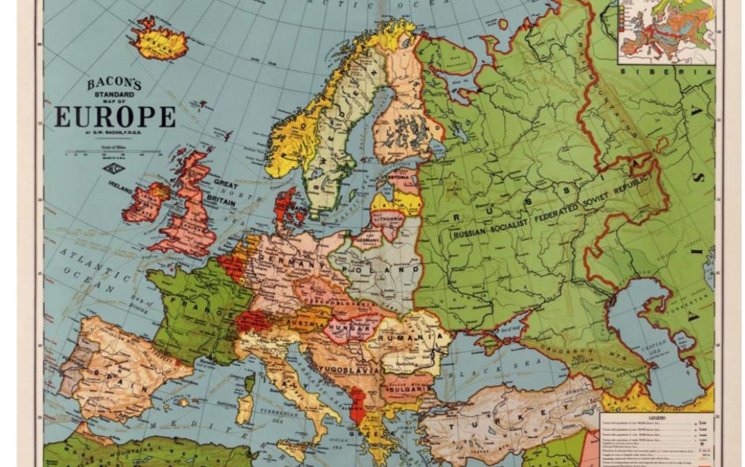 """22 et 23 novembre – Colloque international """"La Pologne indépendante en Europe : 1918-2018"""""""