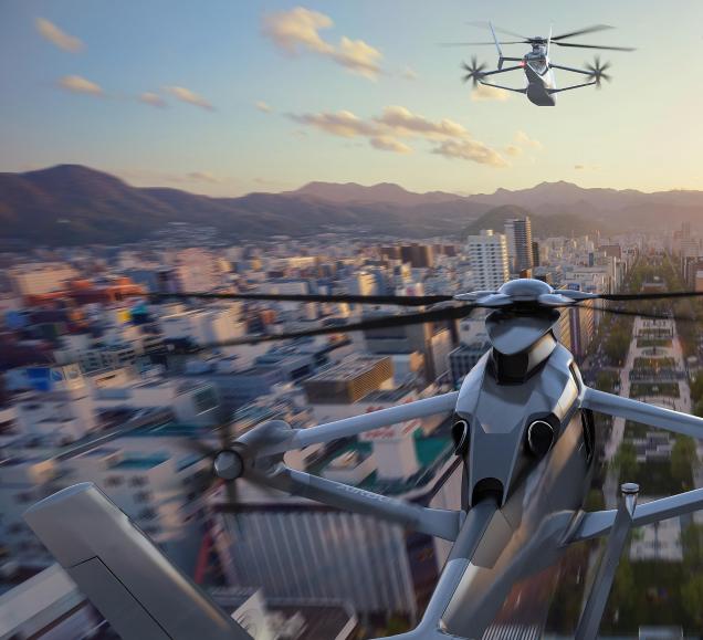 """""""Futur des Hélicoptères"""" – conférence de M. Tomasz Krysinski, vice-président Airbus Hélicoptère pour la recherche et l'innovation."""
