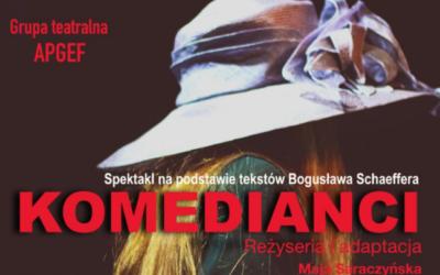 KOMEDIANCI – spektakl po polsku w Paryżu – 20.06.2021